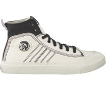 Weiße Diesel Sneaker S-Astico MID Lace