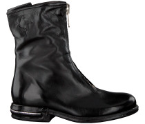 Schwarze A.s.98 Ankle Boots 516210