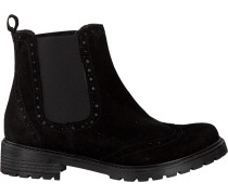 Schwarze Omoda Chelsea Boots 2108