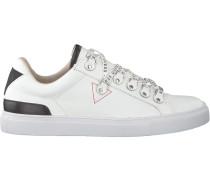 Weiße Guess Sneaker Barry