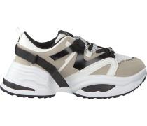 Weiße Steve Madden Sneaker Fay