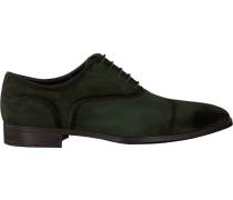 Grüne Giorgio Business Schuhe He50216