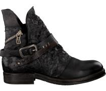 Schwarze A.s.98 Biker Boots 207202