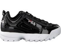 Schwarze Fila Sneaker Disruptor M LOW