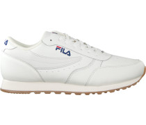 Weiße Fila Sneaker Orbit Jogger LOW MEN