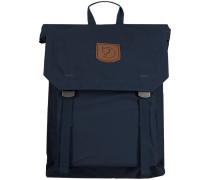 Blaue Fjällräven Rucksack Foldsack