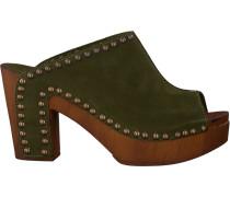 green Replay shoe Xiana