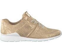 Goldfarbene UGG Sneaker TYE Stardust