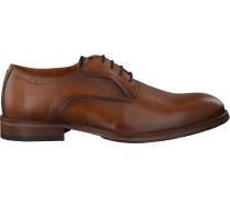 Cognacfarbene Van Lier Business Schuhe 1859204