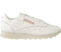 Weiße Reebok Sneaker Cl Lthr Wmn