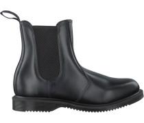Schwarze Dr Martens Chelsea Boots Flora