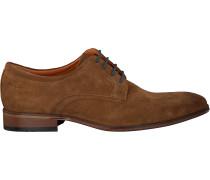 Cognacfarbene Van Lier Sneaker 1917212