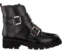 Schwarze Steve Madden Ankle Boots Hoofy Ankleboot