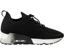 Schwarze Ash Sneaker Low Lunatic