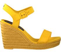 Tommy Hilfiger Sandalen Colorful Tommy Wedge Sandal Gelb Damen