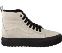 Beige Vans Sneaker SK8 HI Platform MTE