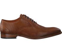 Cognacfarbene Van Lier Business Schuhe 1919110