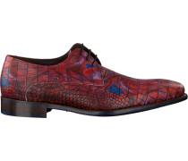 Rote Floris Van Bommel Business Schuhe 14267