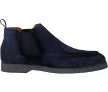Blaue Greve Chelsea Boots Tufo