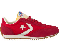 Rote Ballerinas ALL Star Trainer OX Enamel RE