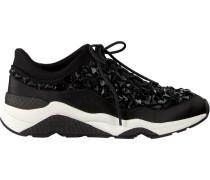Schwarze Ash Sneaker Muse Stones