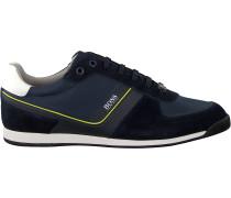Blaue Boss Sneaker Glaze Lowp Nysd