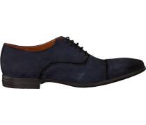 Blaue Van Lier Business Schuhe 6052