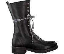 Schwarze Nikkie Biker Boots Aztec Boots