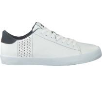 Weiße HUB Sneaker Low Hook-r