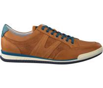 Cognacfarbene Van Lier Sneaker 7452