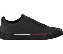 Schwarze Tommy Hilfiger Sneaker Corporate Sneaker