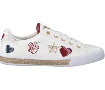 Weiße Guess Sneaker Flmem1 Ele12S