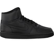 Schwarze Nike Sneaker Ebernon Mid Men