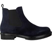 Blaue Omoda Chelsea Boots 74B-010