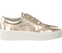 Goldfarbene Roberto d'Angelo Sneaker ELY