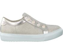 Silberne Gabor Slip-on Sneaker 311