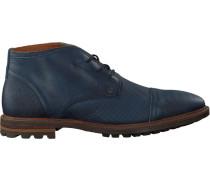Blaue Rehab Business Schuhe Mike