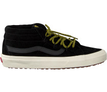 Schwarze Vans Sneaker Sku8 Mid Reissue Sku8 Mid Reis