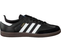Schwarze Adidas Sneaker Samba Heren
