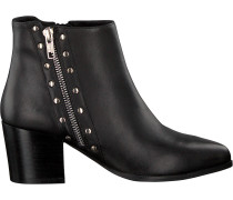 Schwarze Omoda Stiefeletten Netty Ankle Boot Stacked