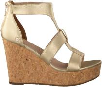 gold UGG shoe Whitney Metallic