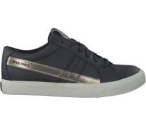 Schwarze Diesel Sneaker D-String LOW