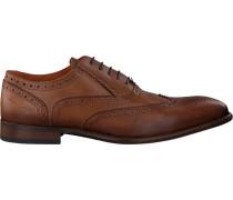Cognacfarbene Van Lier Business Schuhe 1859107