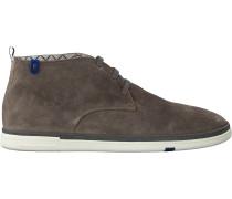 Taupe Floris Van Bommel Business Schuhe 10502