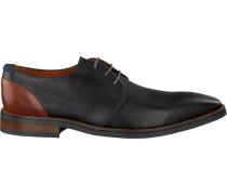Schwarze Van Lier Business Schuhe 5480