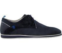 Blaue Floris Van Bommel Business Schuhe 18202