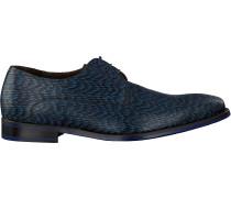 Blaue Floris Van Bommel Business Schuhe 18159