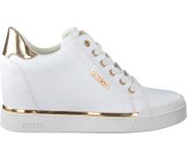 Weiße Guess Sneaker Flowurs Stivaletto