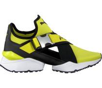 Gelbe Puma Sneaker Muse EOS