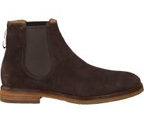 Braune Clarks Chelsea Boots Clarkdale Gobi Heren